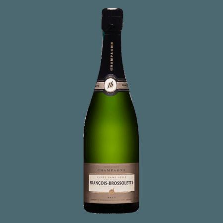 CHAMPAGNE FRANCOIS-BROSSOLETTE - CUVEE DAME NESLE - BLANC DE BLANCS