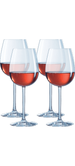 COFFRET 4 VERRES A PIED 45CL - OENOLOGUE EXPERT - CHEF & SOMMELIER