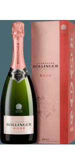 CHAMPAGNE BOLLINGER - BRUT ROSE - CON ESTUCHE