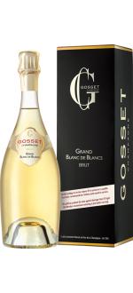 CHAMPAGNE GOSSET - GRAND BLANC DE BLANCS - CON ESTUCHE