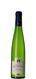 MEDIA BOTELLA - RIESLING 2015 - LES PRINCES ABBES - DOMINIO SCHLUMBERGER