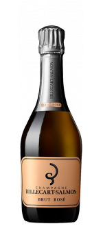 CHAMPAGNE BILLECART SALMON - BRUT ROSE - MEDIA BOTELLA (375 ML)