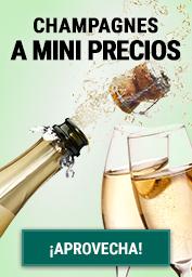 Champagne a mini precios