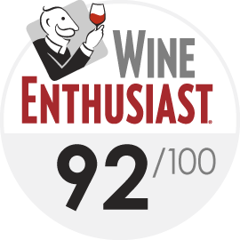 Wine Enthusiast : 92/100